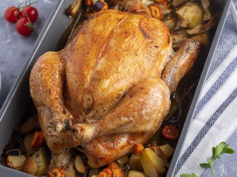 Ideal Chicken Temperature