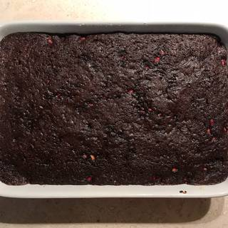 Bake the brownies in preheated oven for 10 to 15 minutes. Do not over cook to have a creamy and fudgy texture at the end.