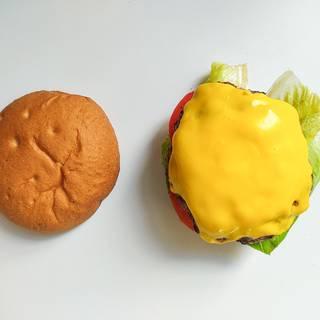 Add cheesy burger
