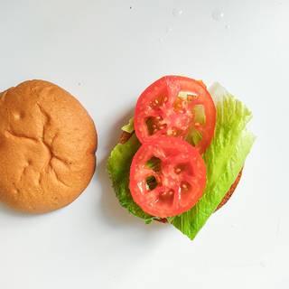 Add lettuce and tomato