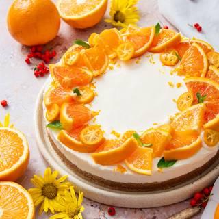 No-Bake Orange Cheesecake Recipe