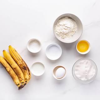 مواد اولیه نان موزی