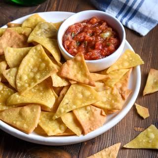 Easy Homemade Tortilla Chips Recipe | Bake Tips