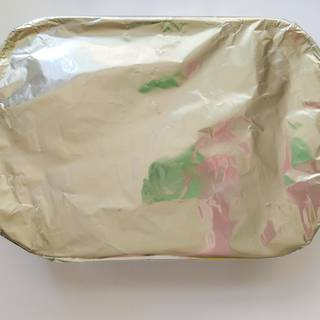 After the chickens are thoroughly cooked, take them out of the oven and pull the foil and let them rest for 10 minutes.