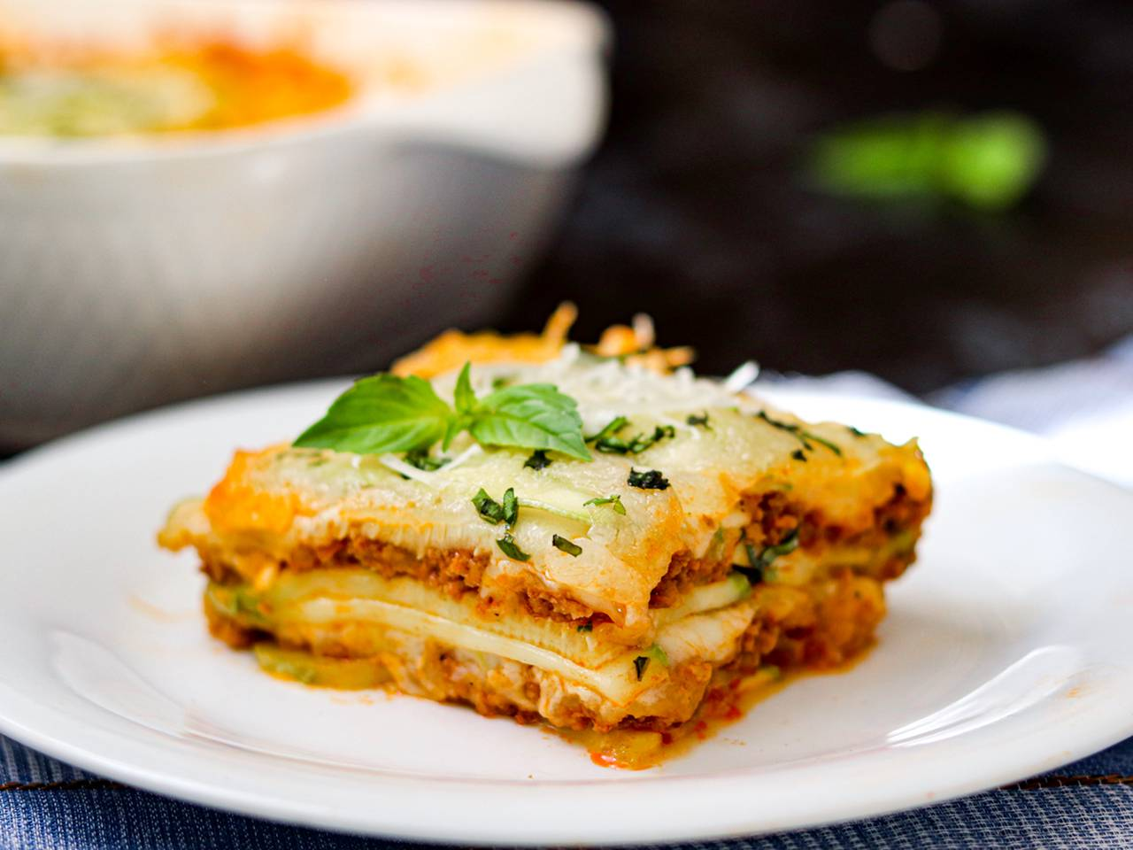 No Noodle Not Watery Zucchini Lasagna Recipe