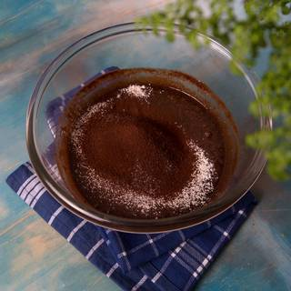Sift flour and cocoa powder and add to it.