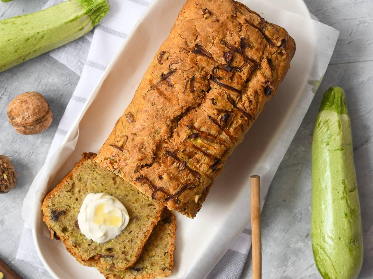 Best Ever Zucchini Walnut Bread