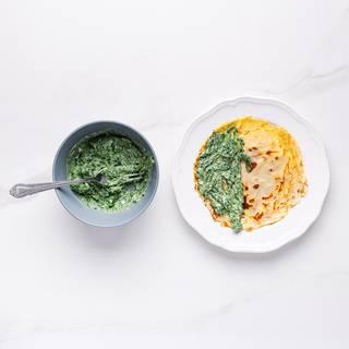 spinach crepe recipe