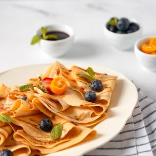 Easy Eggless Crepes Recipe