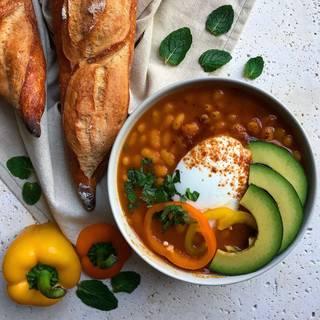 navy bean chili