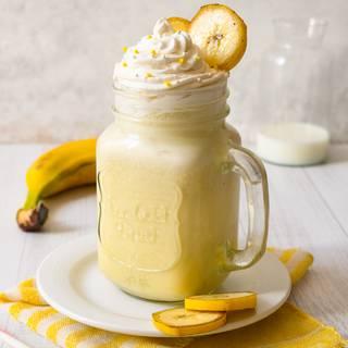 The Best Ever Banana Milkshake