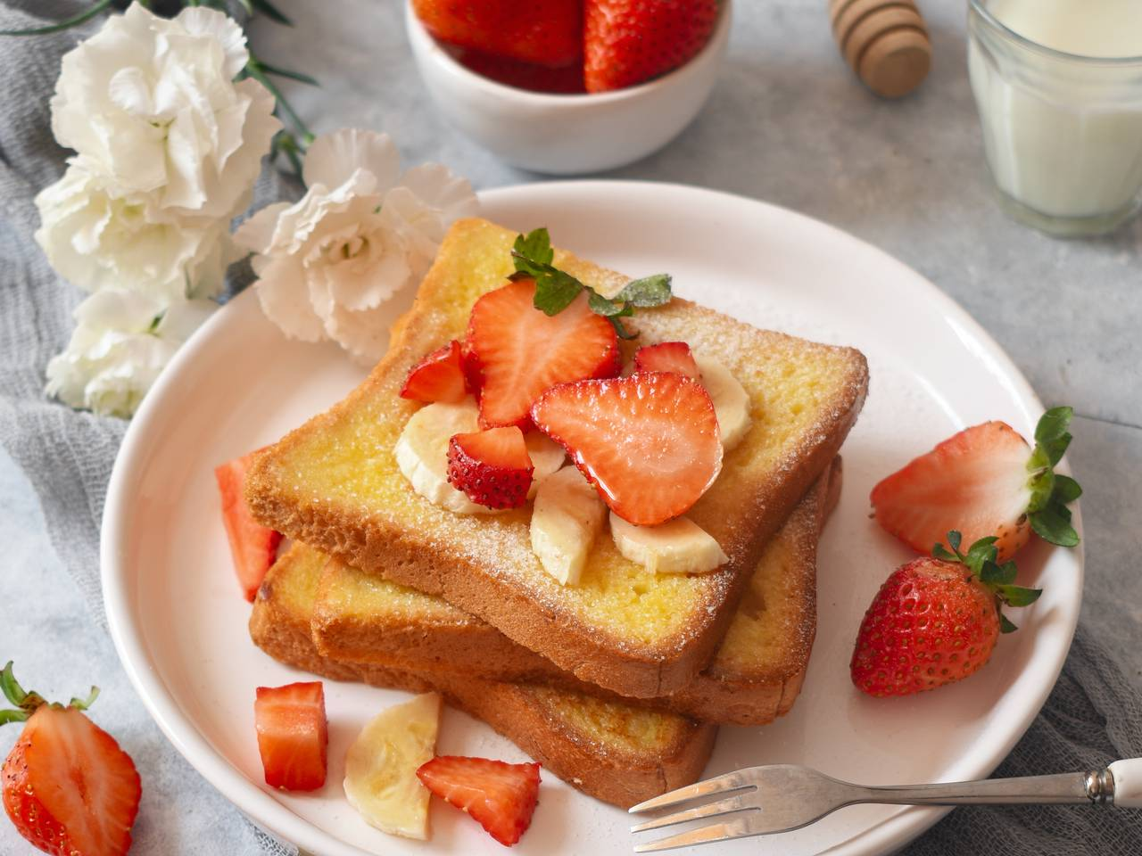 5 Minutes French Toast Recipe