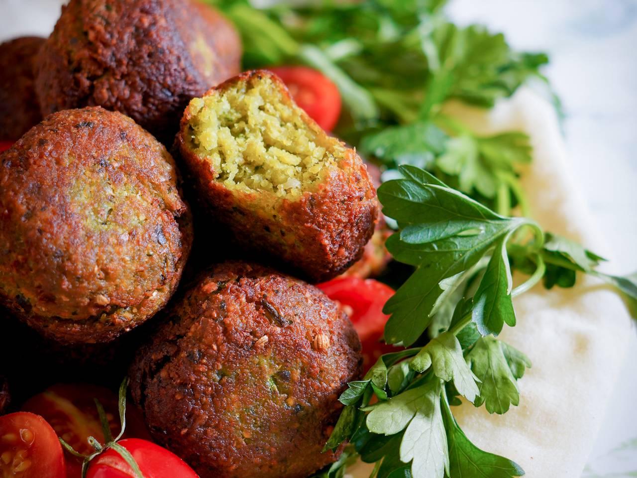 Easy Home-made Falafel Recipe