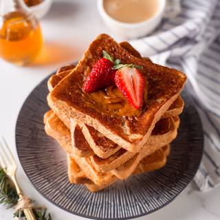 Vegan French Toast In A Jiffy!