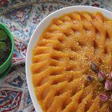 Halva Havij – Persian Carrot Halva with Rice Flour