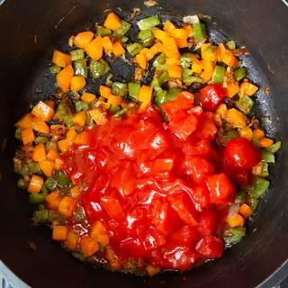 افزودن گوجه