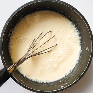 Stir until the smallest ball of cornstarch not remains.