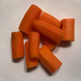 peel the carrots