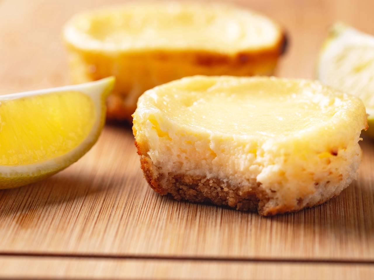 Mini Lemon Cheesecake Recipe