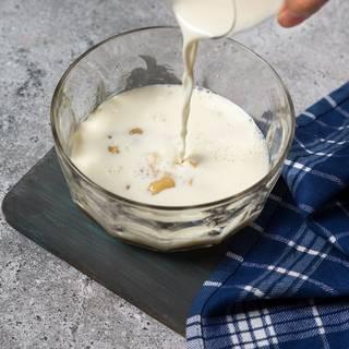 اضافه کردن شیر