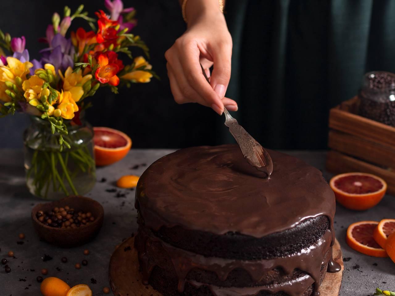 Homemade Salted Chocolate Ganache Recipe