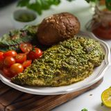 Easy Oven Baked Pesto Chicken Recipe