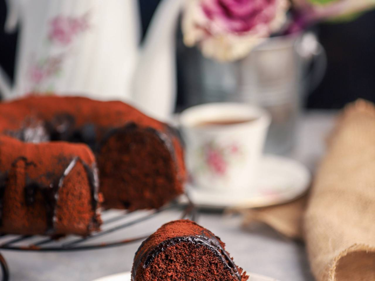 The Perfect Dairy-free Chocolate Cake