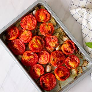 Place all the mixture on the oven tray and let them roast at 200C for 40 to 50 minutes.