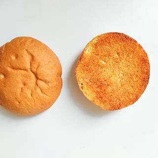 Grilled hamburger bun