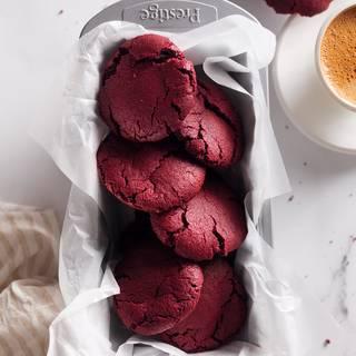 Red Velvet Crinkle Cookies Recipe