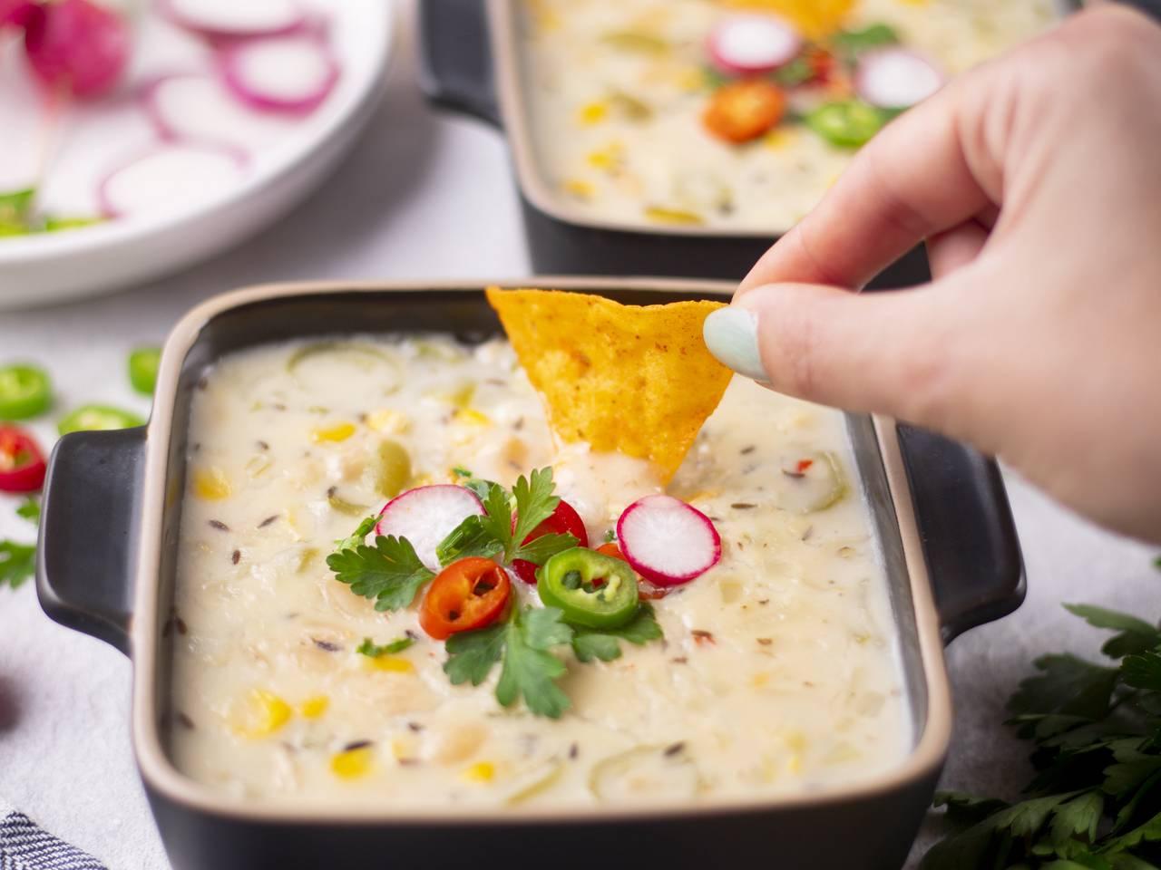 Vegetarian White Bean Chili Recipe