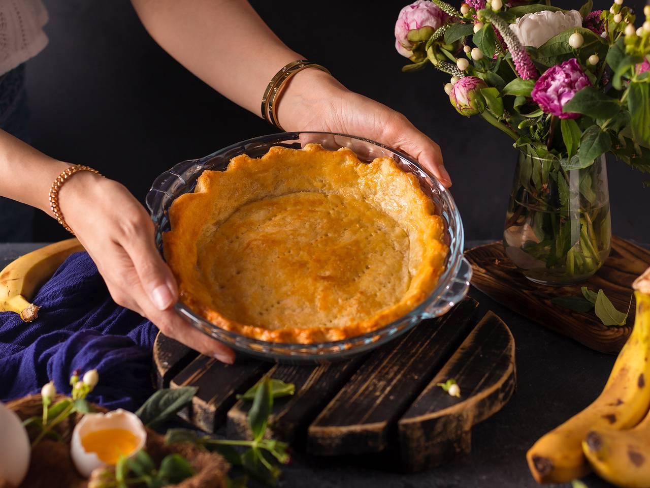 Easy Butter Pie Crust Recipe